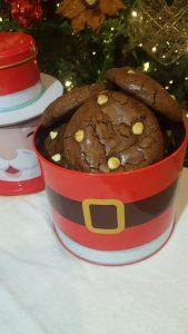 Receta brownie cookie