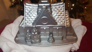 Receta de Bundt Cake de turrón