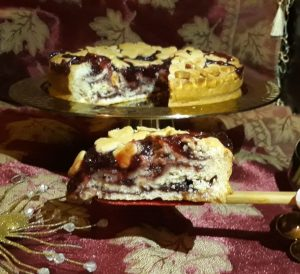 Receta de tartaleta de mermelada de frutas del bosque