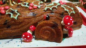 Receta de Bundt cake de arándanos frescos