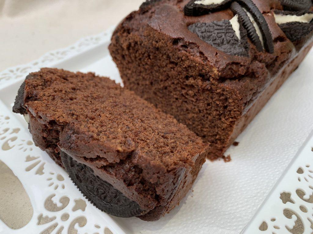 Receta de bizcochito de chocolate con Oreos