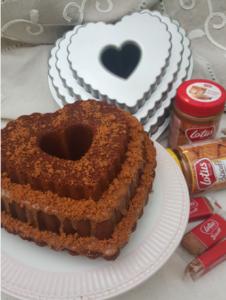 Receta de Bundrt Cake de capuccino y crema de Lotus