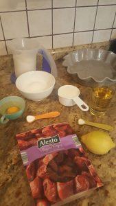 Receta de pastel de higos