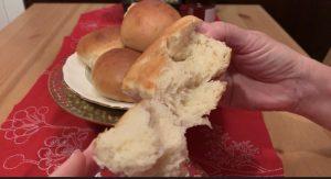 Receta de pan de leche sin huevo
