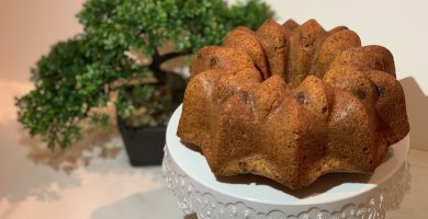 Receta de Bundt Cake de plátano de Canarias