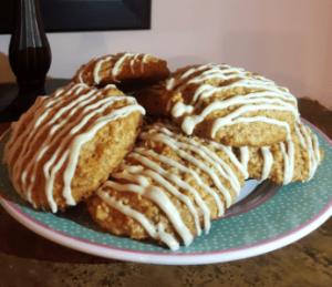 Recetas de Cookies Carrot Cake