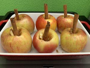 Receta de Manzanas al horno