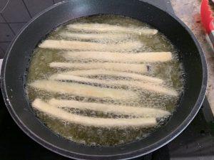 Receta de Berenjenas con miel de caña