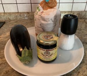 Receta de Berenjena con miel de caña
