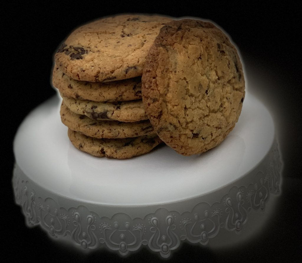 Receta de Cookies con chips de chocolate