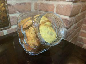 Receta de cookies de mantequilla de cacahuetes con chips de chocolate