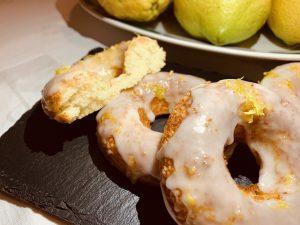 Receta de Donuts de limón y almendras