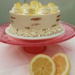 Receta de Tarta de galletas y crema de limón