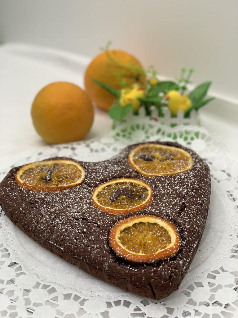 Receta de Beownie de naranja