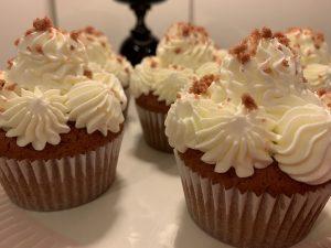 Receta de cupcakes Red Velvet con remolacha